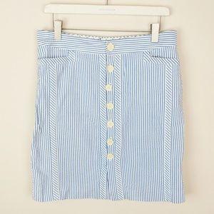 Tommy Hilfiger Seersucker Pencil Skirt    • i19-xx